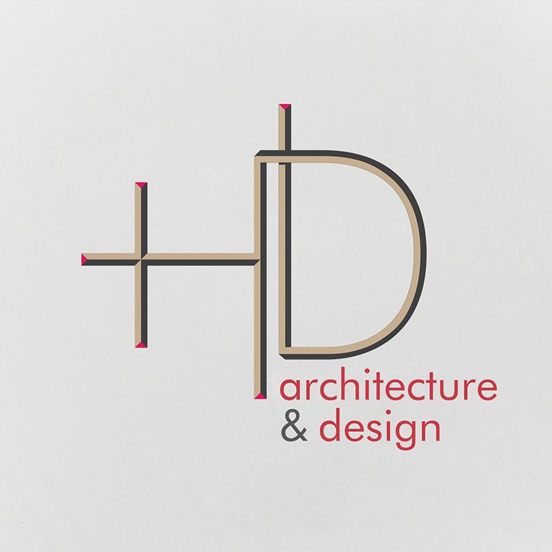 HD architecture logo